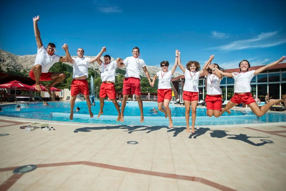 Pobjednicka fotka - TEAM Baška 2013