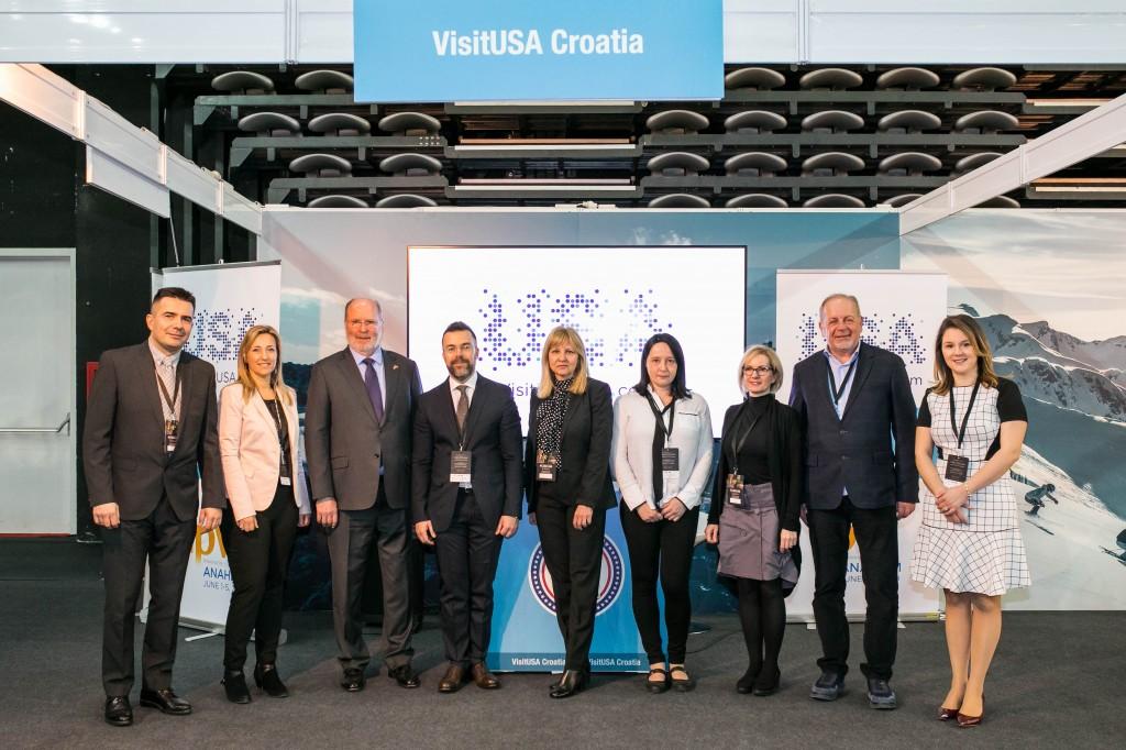VisitUSA Croatia i partneri na Brand USA radionici tijekom sajma PLACE2GO